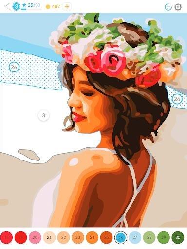 Приложение April Coloring для Андроид