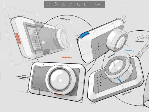 Autodesk SketchBook для Андроид