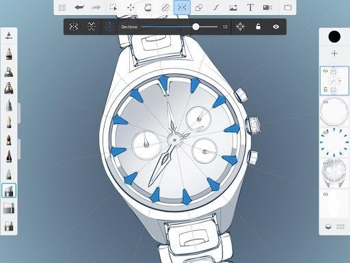 Приложение Autodesk SketchBook для Андроид