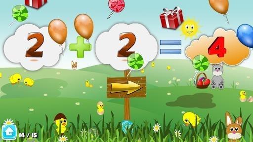 Скриншот Basic Math Games for kids: Addition Subtraction для Андроид