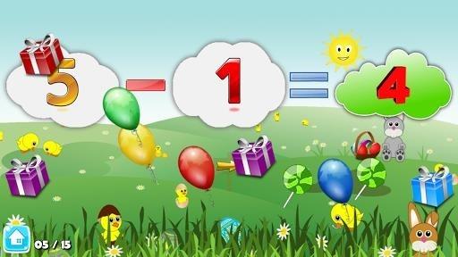 Basic Math Games for kids: Addition Subtraction для Андроид