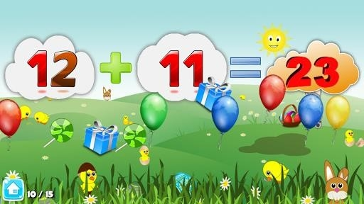 Basic Math Games for kids: Addition Subtraction для Android