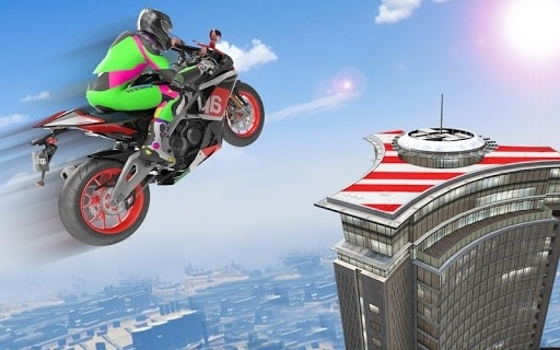 Bike Impossible Tracks Race: 3D Motorcycle Stunts для Android