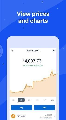Bitcoin Wallet — Coinbase для Андроид