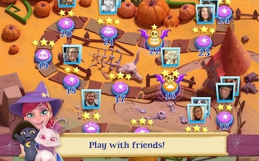 Скриншот Bubble Witch 2 Saga для Андроид