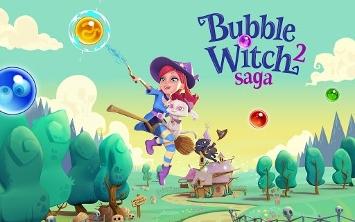 Bubble Witch 2 Saga для Android