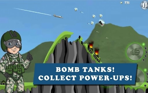Carpet Bombing — Fighter Bomber Attack для Android