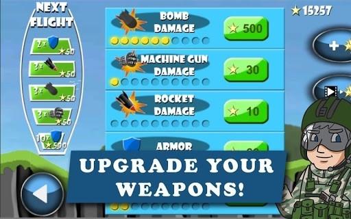 Приложение Carpet Bombing — Fighter Bomber Attack для Андроид