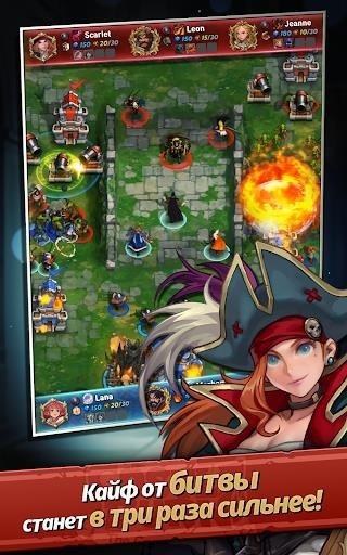 Castle Burn – революция RTS для Андроид