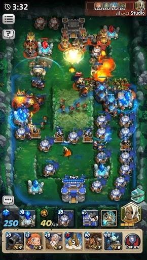 Приложение Castle Burn – революция RTS для Андроид