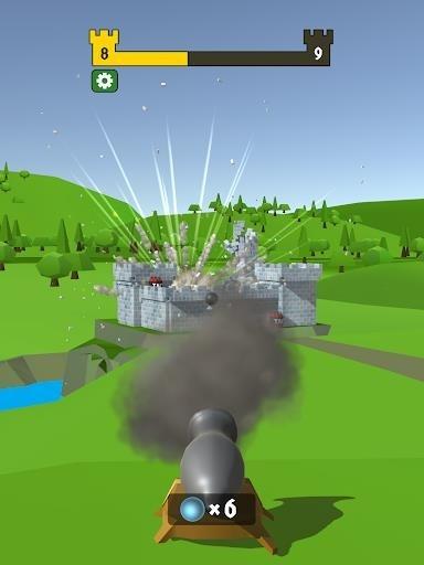 Приложение Castle Wreck для Андроид