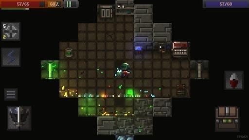 Скриншот Caves (Roguelike) для Андроид