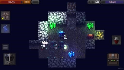 Приложение Caves (Roguelike) для Андроид