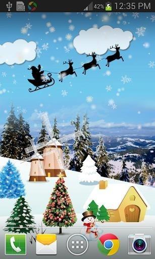 Christmas Live Wallpaper Full для Андроид