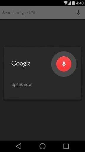 Приложение Chrome Dev для Андроид