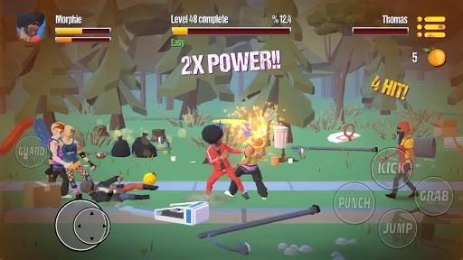 Скриншот City Fighter vs Street Gang для Андроид