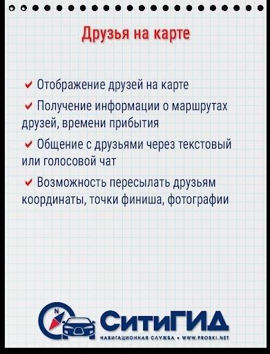 Приложение CityGuide для Андроид