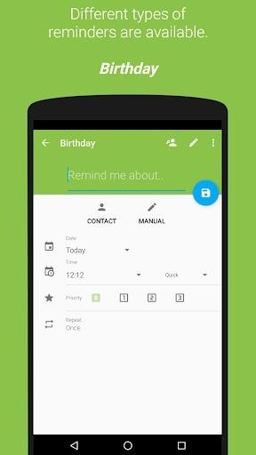 COL Reminder для Android