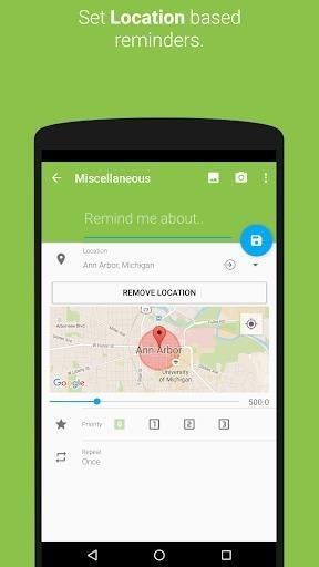 Приложение COL Reminder для Андроид