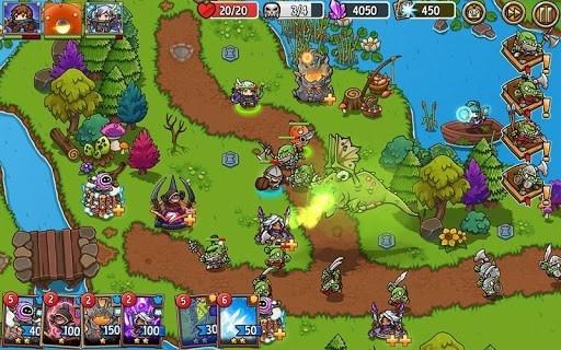 Crazy Defense Heroes: Защита башни тд для Андроид