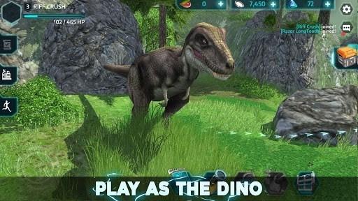 Скриншот Dino Tamers — Jurassic Riding MMO для Андроид