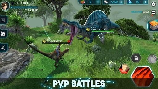 Dino Tamers — Jurassic Riding MMO для Андроид