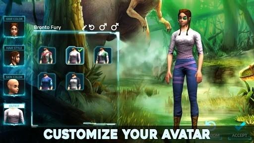 Приложение Dino Tamers — Jurassic Riding MMO для Андроид