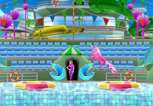 Скриншот Dolphin Show для Андроид