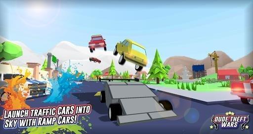 Скриншот Dude Theft Auto: Open World Sandbox Simulator для Андроид
