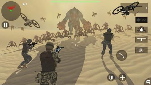 Приложение Earth Protect Squad для Андроид