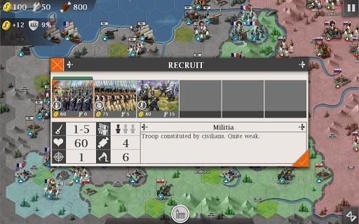 Скриншот European War 4: Napoleon для Андроид