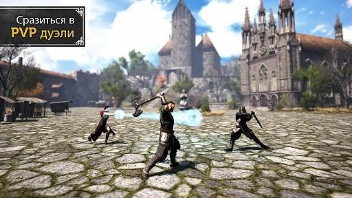 Скриншот Evil Lands: Online Action RPG для Андроид
