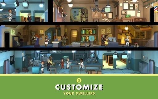 Скриншот Fallout Shelter для Андроид