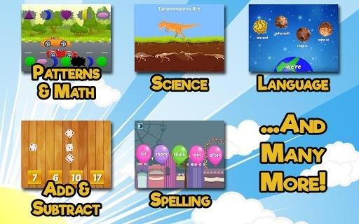 Скриншот First Grade Learning Games для Андроид