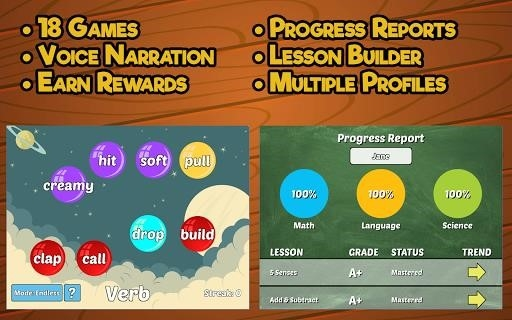 First Grade Learning Games для Андроид