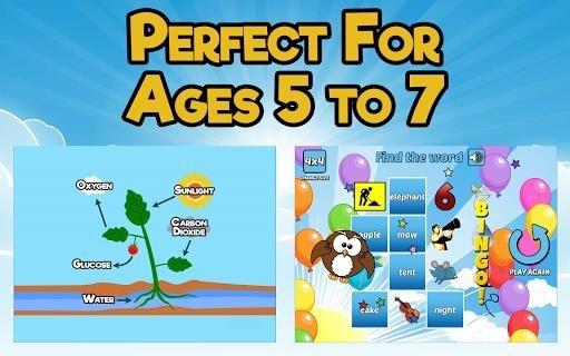 Приложение First Grade Learning Games для Андроид