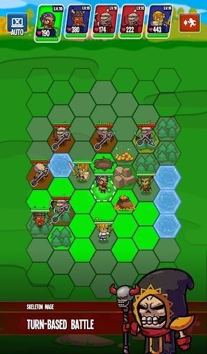 Скриншот Five Heroes: The King's War для Андроид