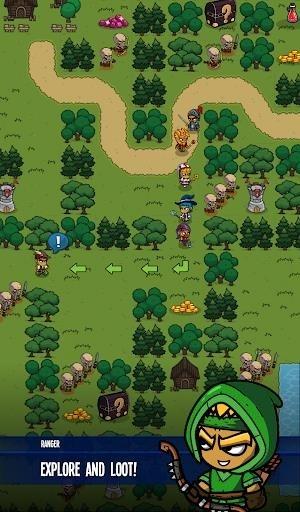 Five Heroes: The King's War для Андроид