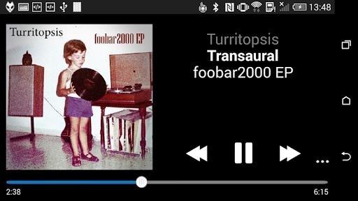 Скриншот foobar2000 для Андроид
