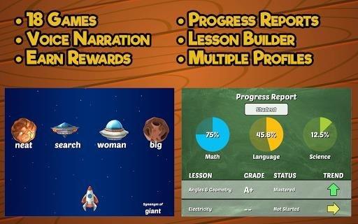 Приложение Fourth Grade Learning Games для Андроид