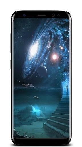Скриншот Галактика PRO Живые Обои для Андроид