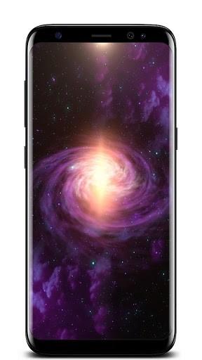 Приложение Галактика PRO Живые Обои для Андроид