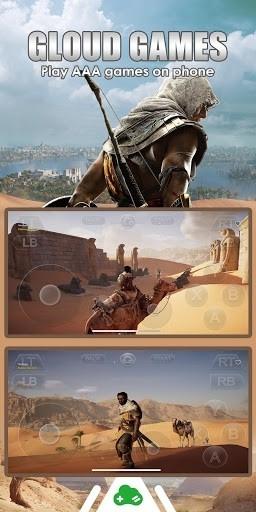 Скриншот Gloud Games для Андроид
