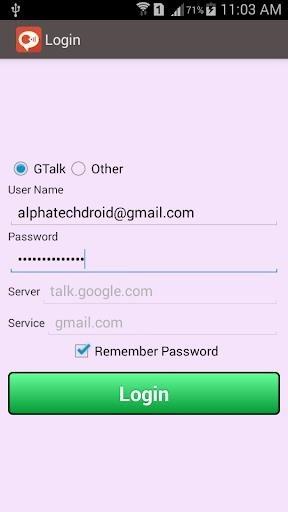 Google Talk для Android