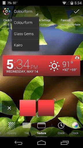 Скриншот HD Виджеты для Андроид