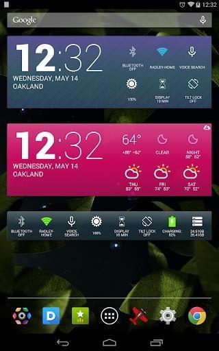 Приложение HD Виджеты для Андроид