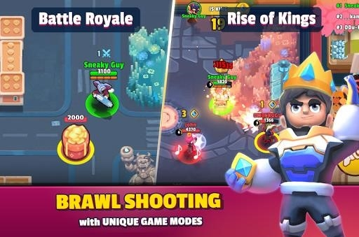 Приложение Heroes Strike — Brawl Shooting Multiple Game Modes для Андроид