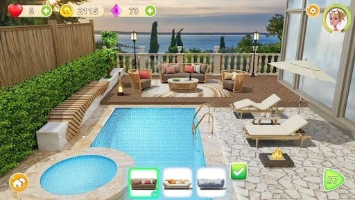 Скриншот Homecraft — Home Design Game для Андроид