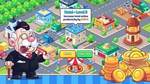 Idle Prison Tycoon: Gold Miner Clicker Game для Андроид