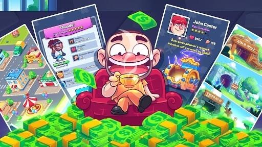 Приложение Idle Prison Tycoon: Gold Miner Clicker Game для Андроид